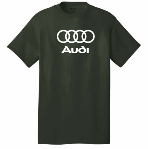 Audi t-shirt mechanic A3 A4 A6 S6 A7 S4 S7 RS7 A8 S8 Q3 TT R8 Roadster Racing