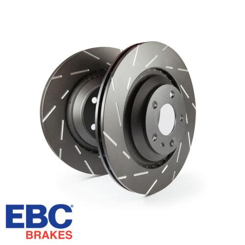 USR311 EBC Brakes USR Slotted Front Brake Discs