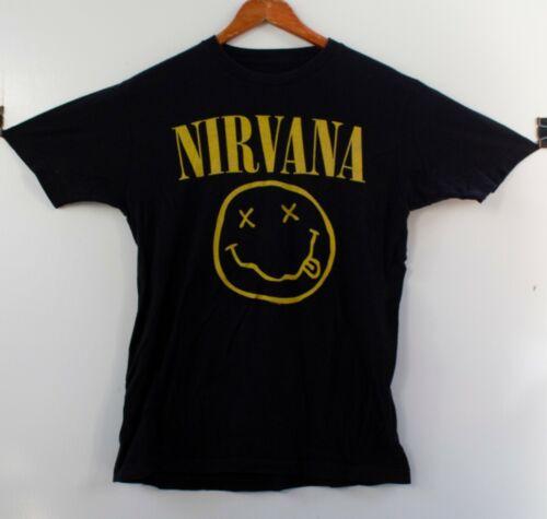 Nirvana Classic Smile T-Shirt Black Size L
