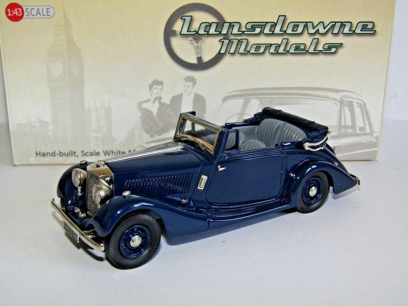 Obtén lo ultimo Lansdowne Modelos 1936 Railton Railton Railton Fairmile drop head coupe Azul 1 43 LDM47A  calidad garantizada