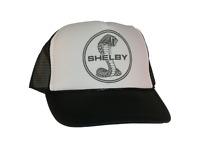 Vintage Shelby Cobra Hat Trucker Hat Mesh Hat Free Shipping Black