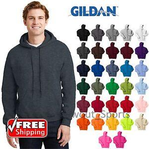 Gildan Heavy Blend Hooded Sweatshirt 50//50 Mens Hoodie 2XL 3XL 4XL 5XL 18500