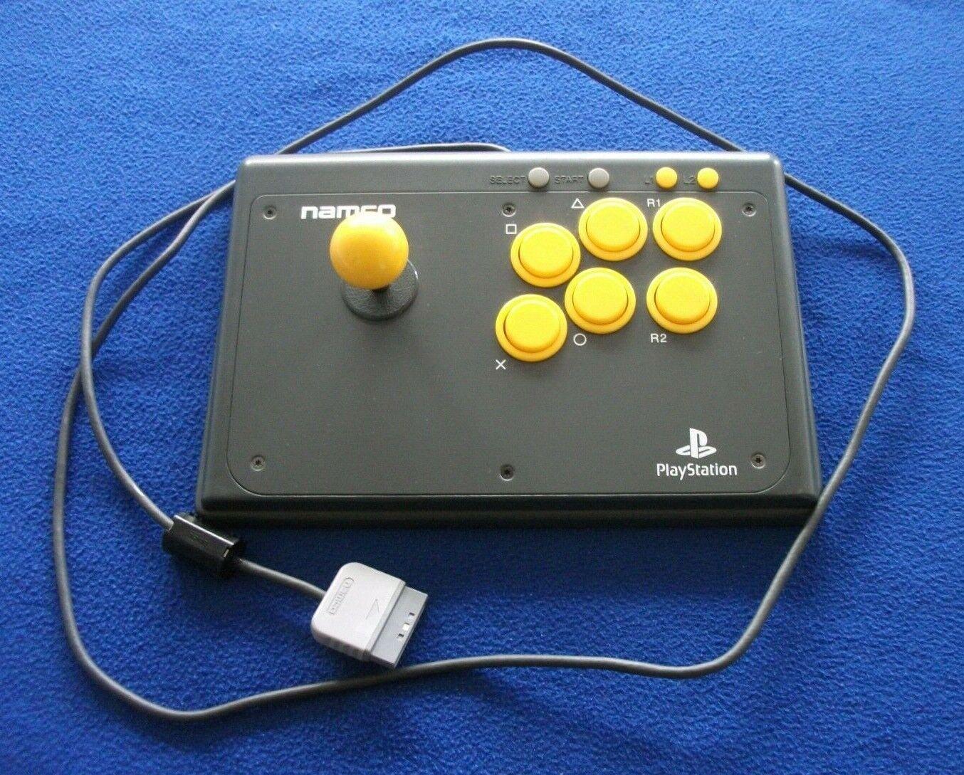 playstation-namco arcade stick-NPC 102-1996-rare-free uk p&p.