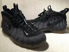 9c114e2ac5c item 4 Size 9 Nike Air Foamposite Pro Dark Grey Heather Black Fleece Wool  624041 007 -Size 9 Nike Air Foamposite Pro Dark Grey Heather Black Fleece  Wool ...