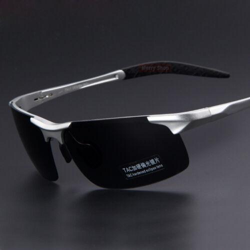 Aluminum Magnesium Alloy Frame Polarized HD Sunglasses Men/'s Driver Glasses