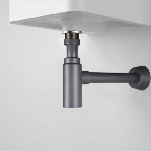 Bottle Trap  Round Lavatory ABS  P-Traps Bathroom Basin  Sink Waste Drain Kit
