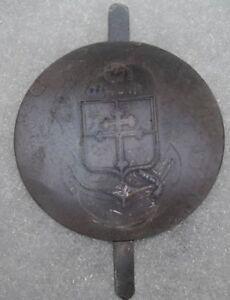 insigne-de-Casque-Adrian-de-la-9e-Division-d-039-infanterie-coloniale-modele-37