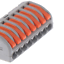 thumbnail 9 - 2/3/4/5/8 Way Reusable Spring Lever Terminal Block Electric Cable Wire Connector