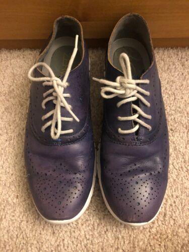 Violets Cuir Chaussures 5b Zerogrand Femme À Taille Pour En Haan D'argile Cole 8 Bouts M0wrUq0xT8