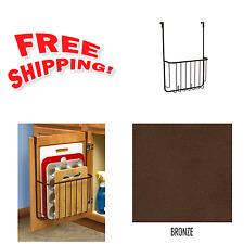Over The Door Pantry Organizer Rack Kitchen Cabinet Holder Cookie Sheet  Board