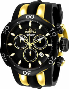 New-Mens-Invicta-26661-Reserve-Venom-Fang-Quartz-Chronograph-18k-53-7mm-Watch