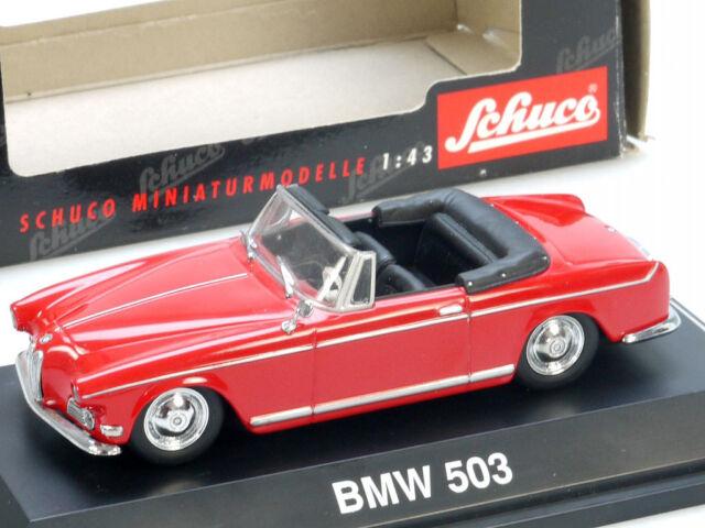 Schuco 02243 BMW 503 Cabriolet Rojo 1/43 Coche a Escala Top! Emb.orig 7010-12-4