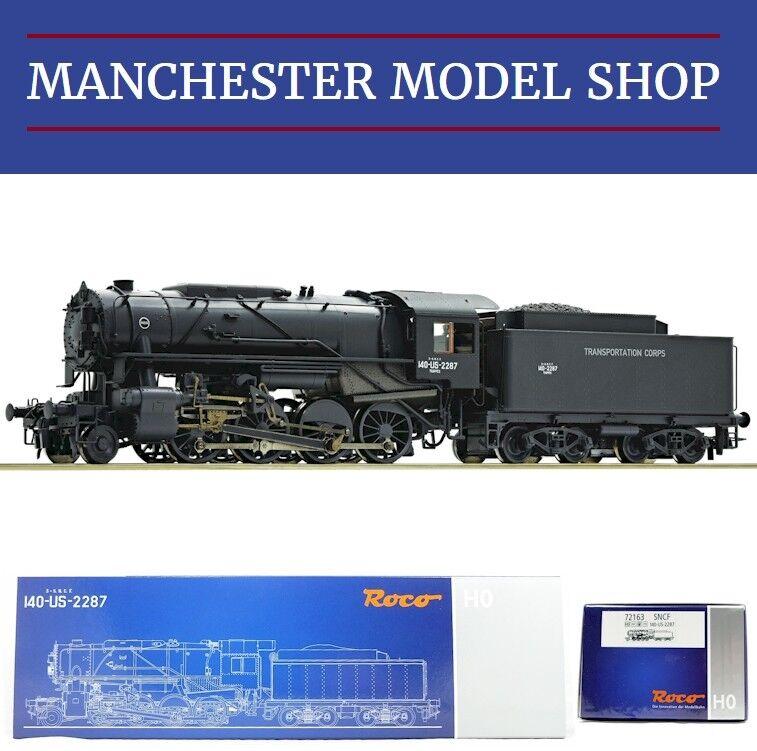 Roco 72163 HO 1:87 Steam locomotive S160 141-US-2287 SNCF  DCC SOUND  NEW BOXED