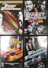FAST AND THE FURIOUS QUADRILOGY 1,2,3,4 Tokyo Drift Vin Diesel*Walker DVD *EXC*