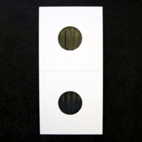 200 Dime Size 2x2 Mylar Cardboard Coin Flip for Storage10 Cent Paper Holder