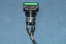 1 Idec 12vdc Green Led Dpdt Push Button Switch Al6h M23p G
