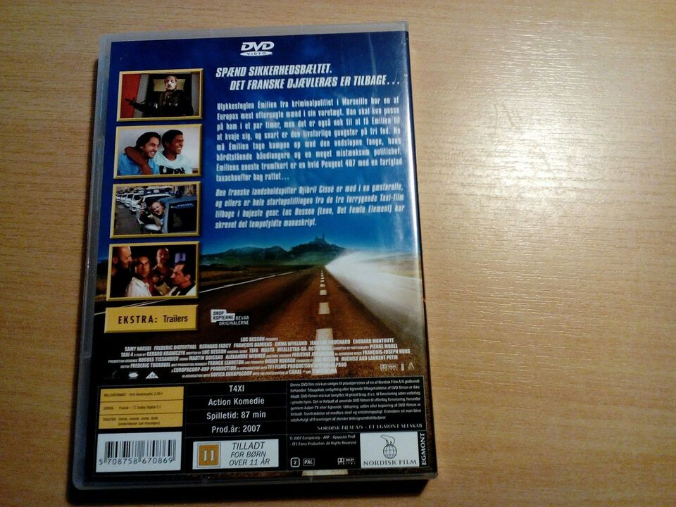 Taxi 4, DVD, andet