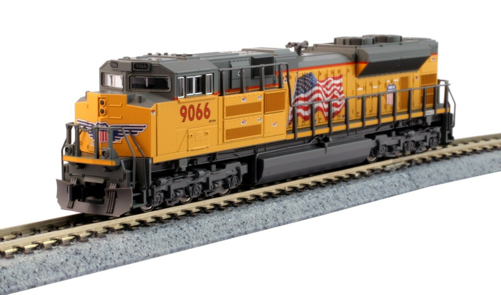 N Scale - KATO 176-8521 UNION PACIFIC SD70ACe Locomotive   9066 DCC Ready