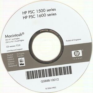 hp psc 1600 software for mac