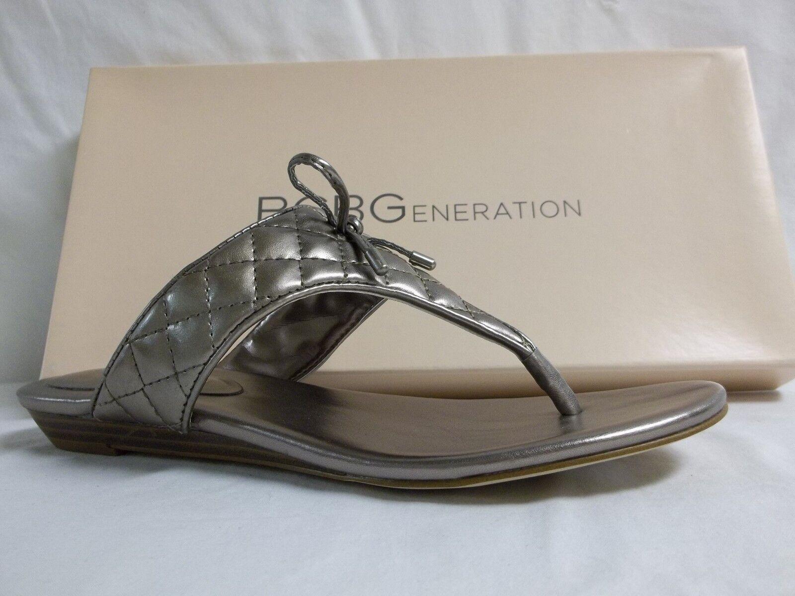 BCBGeneration BCBG Size 8.5 M Alice Matte Bronze Flip Flip Flip Flops New Womens shoes 3a7bcb