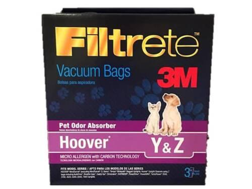 Hoover Tempo Type Y WindTunnel Vacuum Bags 3 Bags -BUY 2 Packs Get 1 FREE