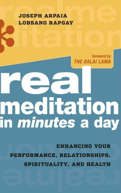 Real Meditation in Minutes a Day: Enhancing Your Performance, Relationships,...