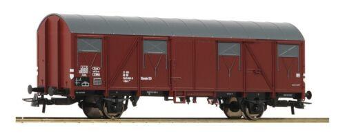 ROCO 75958 couvert wagons glmehs 50 de la DB Ep IV NEUF NEUF dans sa boîte