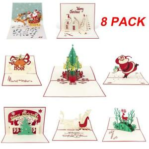8pcs-3D-Christmas-Cards-Pop-Up-Greeting-Cards-3D-Handmade-Greeting-for-Xmas-Card