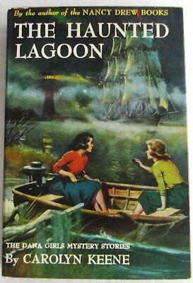 Dana Girls #21 Haunted Lagoon Nancy Drew Author Carolyn Keene Dust Jacket