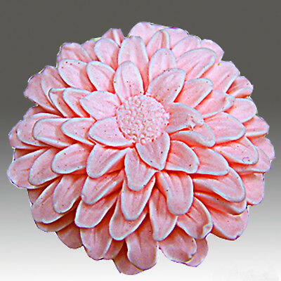 egbhouse, Chrysanthemum0811 -3D silicone Soap/polymer/clay/plaster mold