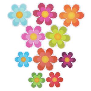 20x Non Slip Floral Bathtub flower Sticker Adhesive Decal Bath Tub Stairs Safety