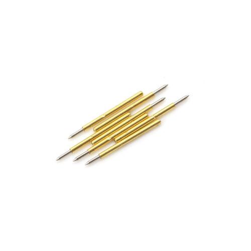100x P75-B1 Dia 1.02mm 100g Cusp Spear Spring Loaded Test Probes Pogo Pins  FXJ
