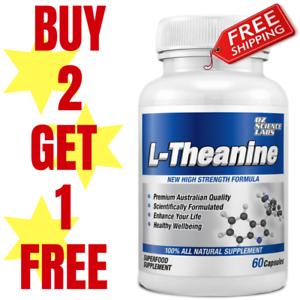 L-THEANINE-120-Capsules-Stress-Anxiety-Relaxation-Focus-QTY-DISC-BUY