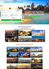 FLIGHT, HOTEL & CAR RENTAL Booking Affiliate Website