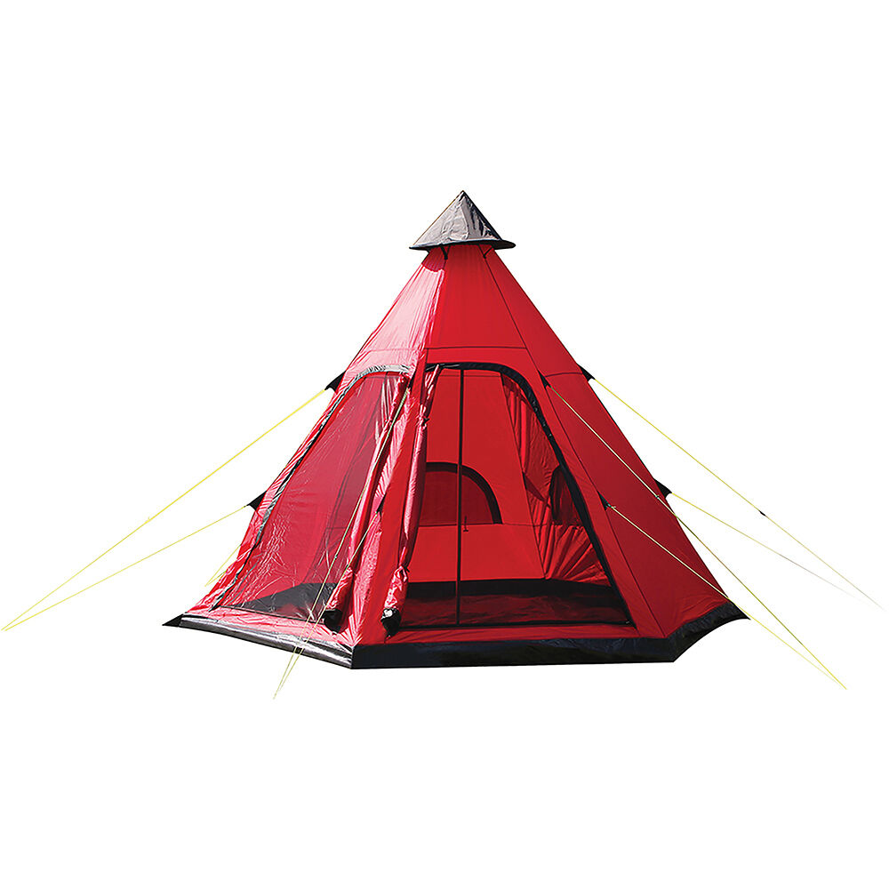 TEEPEE TIPI STYLE 4 PERSON BERTH CAMPING FESTIVAL WIGWAM WIGWAM WIGWAM TENT CAMPING OUTDOOR TR 733c30