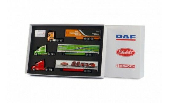 WSI DAF Fire Box-DAF + + Peterbilt Kenworth - 1 50