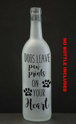 Wine Bottle Sticker What i love most about my home  vinyl decal