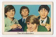 1960s Swedish Pop Star Card UK Beat  Group Wayne Fontana and The Mindbenders