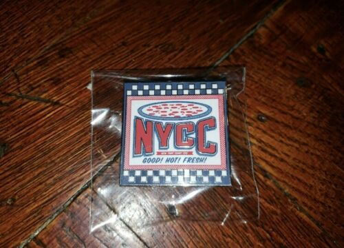 NYCC 2019 Pizza Pin XP Hunt New York Comic Con Exclusive DS gift Rare Collect