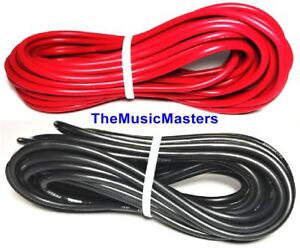 12-Gauge-25-039-ft-each-Red-Black-Auto-PRIMARY-WIRE-12V-Auto-Wiring-Car-Power-Cable