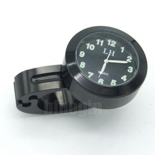 "7/8"" - 1"" Manillar Motocicleta Reloj Moto Universal Impermeable Nuevo"