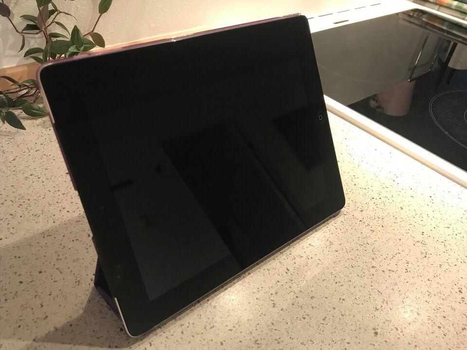 iPad 4, 32 GB, sort