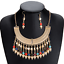 Bohemia-Women-Choker-Chunky-Statement-Bib-Alloy-Charm-Pendant-Necklace-Jewelry thumbnail 81