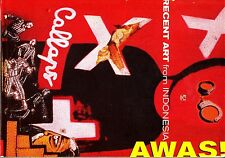 AWAS! Recent Art from Indonesia 1999 Modern Art Catalog Sculpture Video