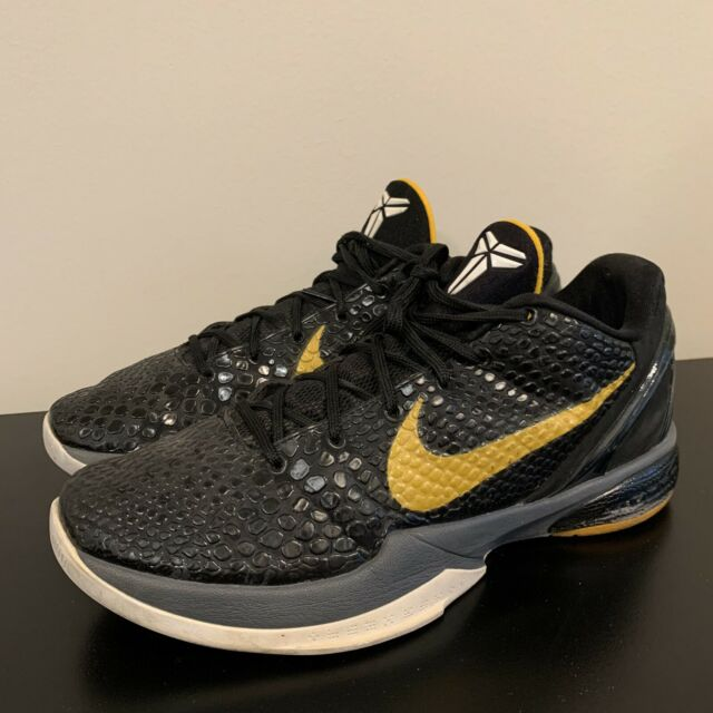Nike Zoom Kobe 6 Black Del Sol
