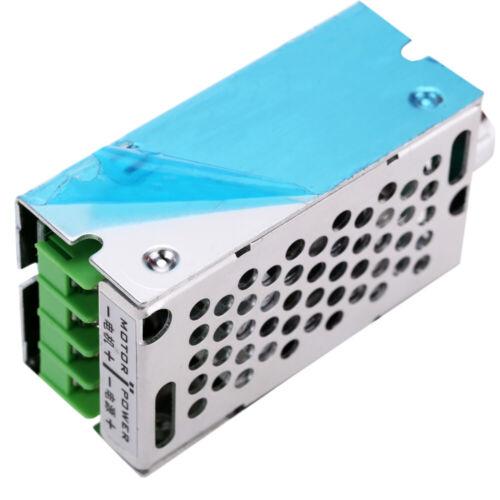 DC Brush PWM Motor Speed Control Regulator Switch 12V//24V//36V//60V 10A 400W U7N3