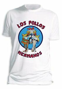Los-Pollos-Hermanos-Mens-Breaking-Bad-T-Shirt-Top-Tee-Heisenberg-Shirt
