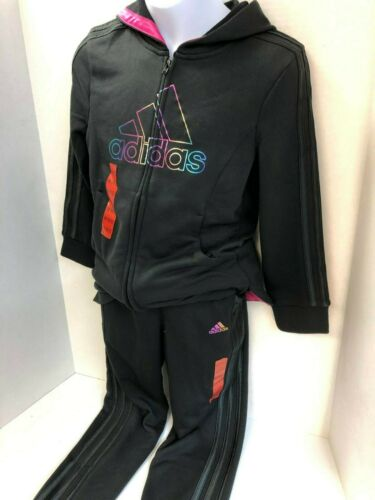 NWT Youth Girls ADIDAS Athletic Warm-up Track Jogger Pants//Hoodie AK4549 AP4432