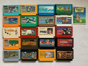 Famicom-20-games-set-Super-Mario-Bros-TETRIS-F-1-Race-Nintendo-Hudson-Soft