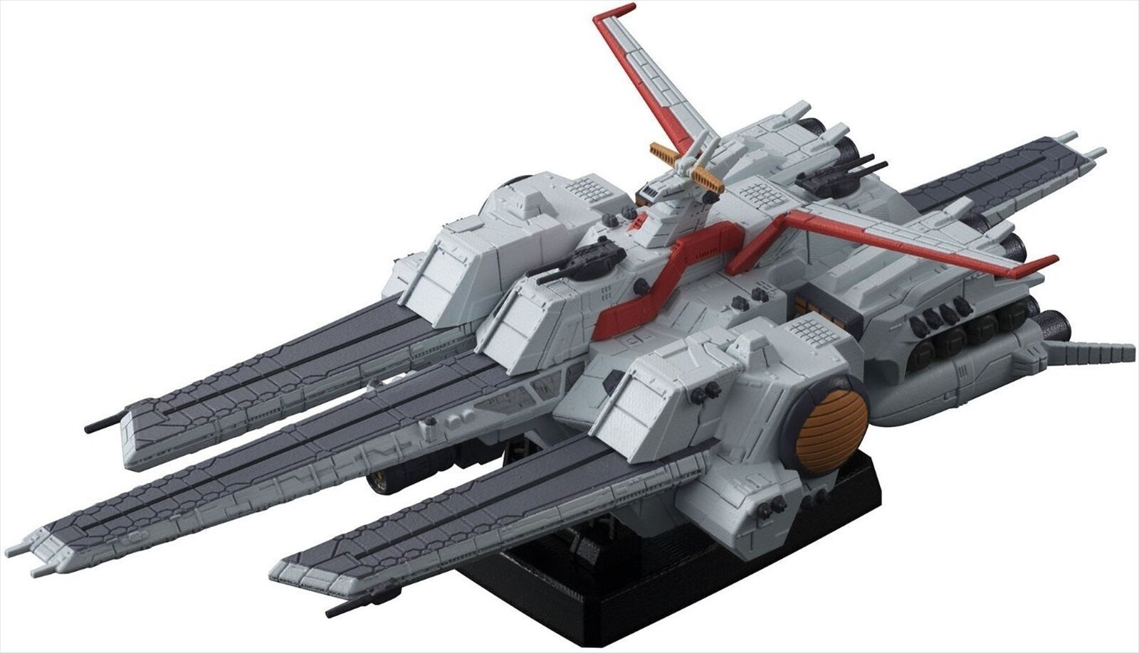 Megahouse Cosmo Fleet Special Gundam Unicorn NAHEL  Argama Figure  100% authentique